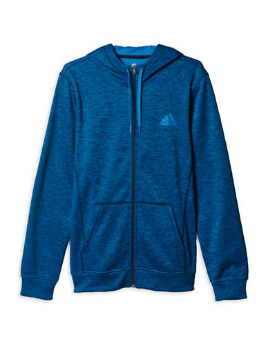 Adidas Team Issue Full Zip Hoodie-BLUE-Small 88779396_BLUE_Small