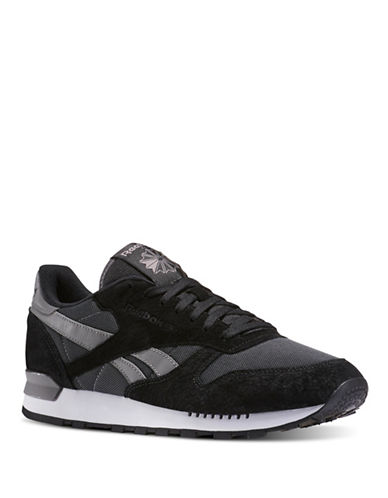Reebok Leather Athletics Sneakers-GREY-11 88555020_GREY_11