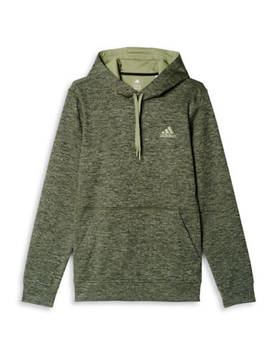 Adidas Team Issue Fleece Hoodie-GREY-X-Large 88674536_GREY_X-Large