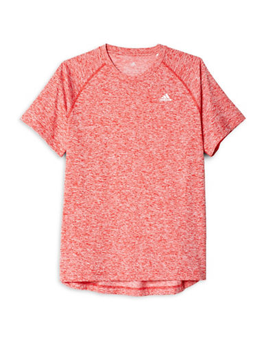 Adidas Base Heather Tee-RED-Large 88779383_RED_Large