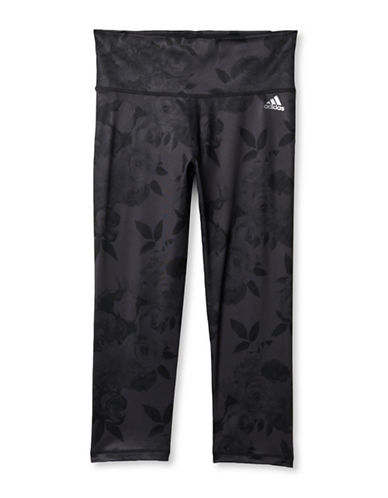 Adidas Performer Capri Leggings-BLACK-X-Large 88468887_BLACK_X-Large