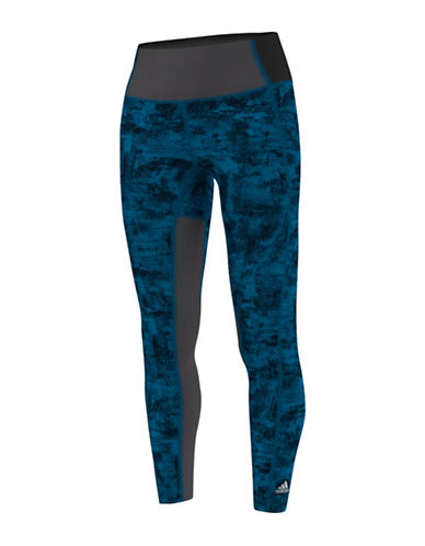 Adidas Performer High-Rise Long Tights-BLUE-X-Small 88734206_BLUE_X-Small