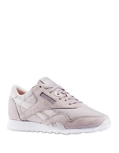 Reebok Classic Nylon X Face Sneakers-GREY-10 89005071_GREY_10