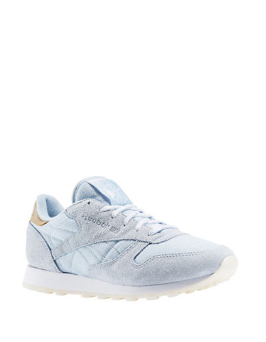 Reebok Classic Suede Combo Sea-Worn Sneakers-GREY-6.5