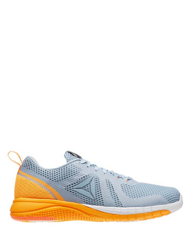 Reebok Womens Print Run 2.0 Sneakers-GREY-7