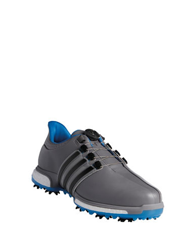 Adidas TOUR360 Boa BOOST Golf Shoes-GREY-7 89033987_GREY_7