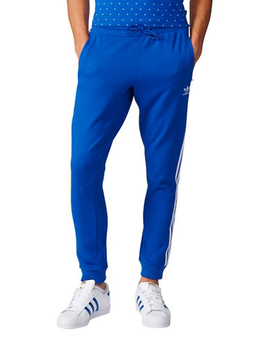 Adidas Pharrell Williams HU Football Track Pants-BLUE-X-Large 88839491_BLUE_X-Large