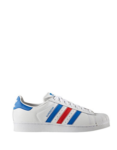 Adidas Originals Mens Superstar Sneakers-WHITE-12