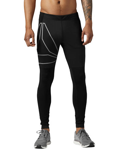 Reebok Running Winter Tights-BLACK-X-Large