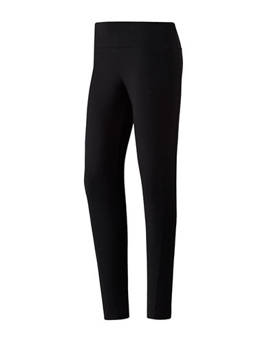 Reebok Classics Franchise Leggings-BLACK-Small
