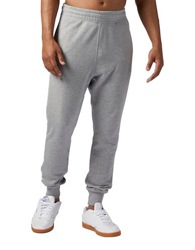 Reebok Tapered Jogger Pants-GREY-Large