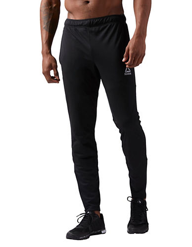 Reebok Knit Trackster Pants-BLACK-Large 90050721_BLACK_Large