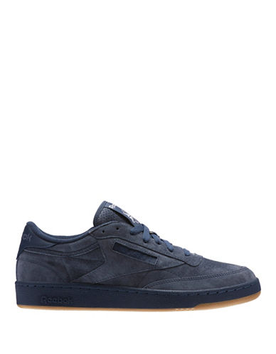 Reebok CLUB C 85 SG Leather Low-Top Sneakers-INDIGO-9