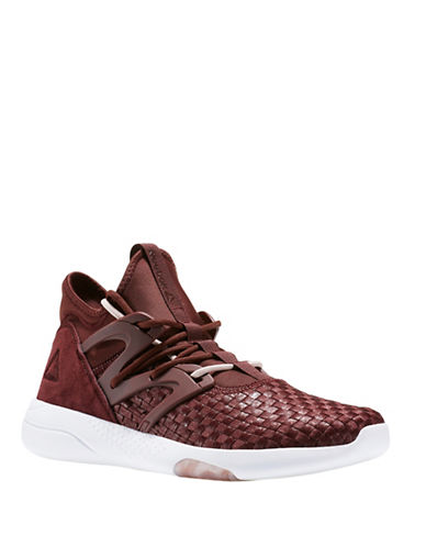 Reebok Hayasu High-Top Sneakers-BROWN-10