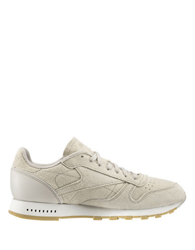 Reebok CL Leather SG Sneakers-BEIGE-11.5