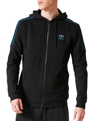 Adidas Ornamental Zip-Front Hoodie-BLACK-Large 89244117_BLACK_Large