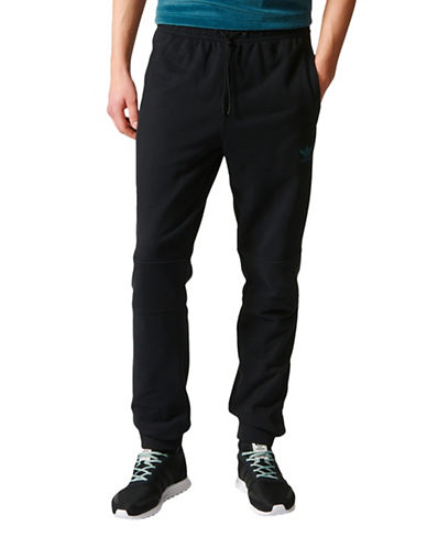 Adidas Ornamental Block Track Pants-BLACK-X-Large 89244083_BLACK_X-Large