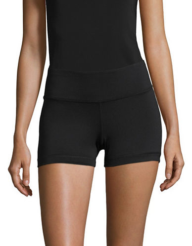 Reebok Hot Shorts-BLACK-X-Small