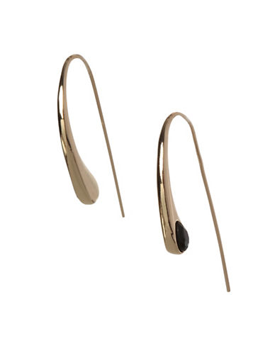 Bcbgeneration Pear Shape Wire Earrings-GOLD-One Size