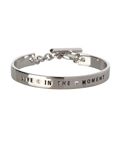 Bcbgeneration Live in the Moment Goldplated Bracelet-SILVER-One Size