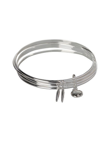 Bcbgeneration Marquise Group Layered Bangle Bracelet-SILVER-One Size