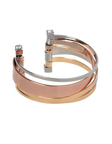 Bcbgeneration Tri-Tone Core Cuff Bracelet-TRI TONE-One Size