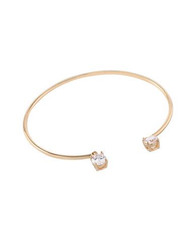 Bcbgeneration Orbital Goldtone Cuff Bracelet-GOLD-One Size