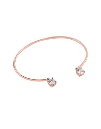 Bcbgeneration Orbital Rose Goldtone Cuff Bracelet-ROSE GOLD-One Size