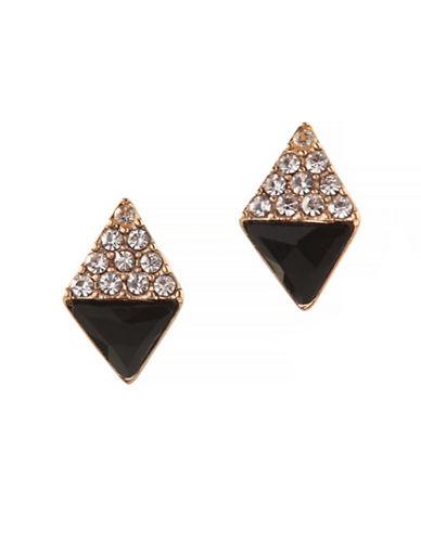 Bcbgeneration Orbital Stud Earrings-BLACK-One Size