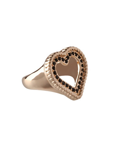 Bcbgeneration Keys to My Heart Ring-GOLD-One Size
