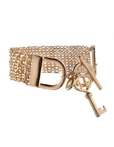 Bcbgeneration Keys to My Heart Multi-Strand Bracelet-GOLD-One Size