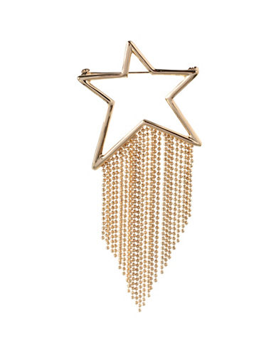 Bcbgeneration 12K Yellow Gold Star Pin-GOLD-One Size