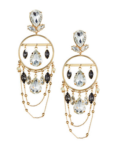 Bcbgeneration 12K Goldplated Chandelier Statement Earrings-ASSORTED-One Size