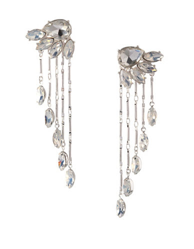 Bcbgeneration Multi-Chain Crystal Earrings-ASSORTED-One Size