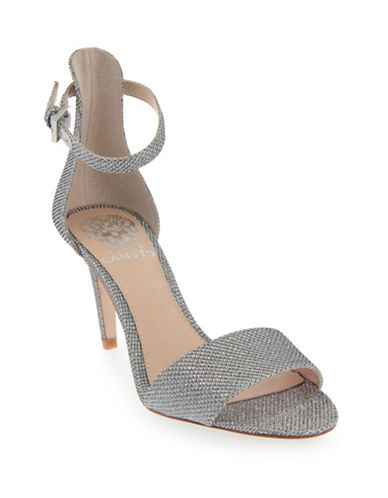 Vince Camuto Court Woven Dress Sandals-SILVER-6.5