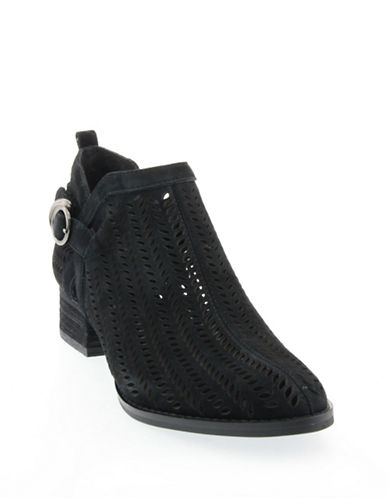 Vince Camuto Campina Suede Ankle Boots-BLACK-6