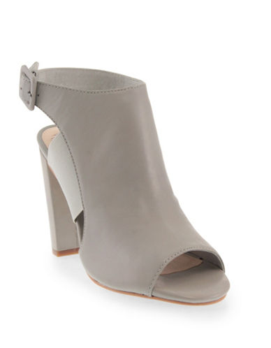 Vince Camuto Camma Leather Booties-GREY-6.5 88382715_GREY_6.5