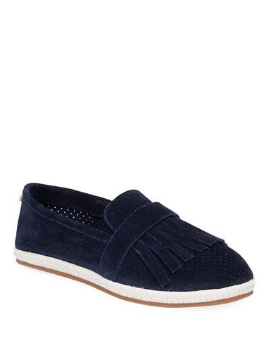 Ed Ellen Degeneres Monroe Casual Suede Shoes-BLUE-6.5