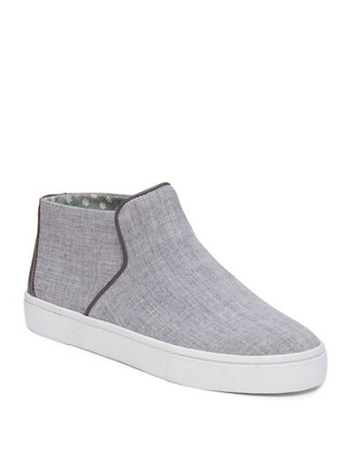 Ed Ellen Degeneres Fallon High-Top Sneakers-GREY-10