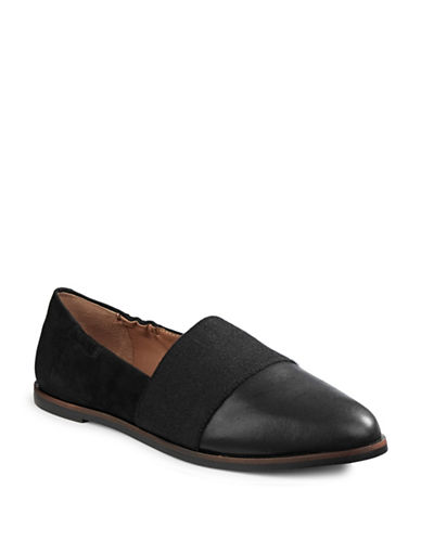 Ed Ellen Degeneres Karlin Leather Loafers-BLACK-7.5