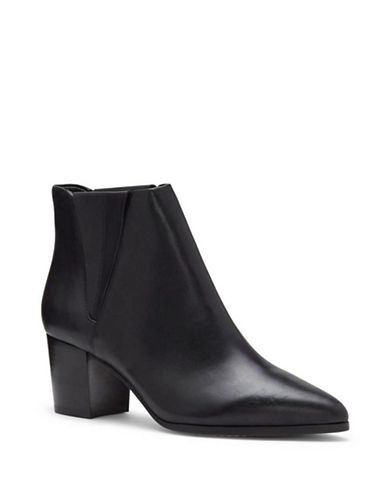 Vince Camuto Brissa Leather Chelsea Ankle Boots-BLACK-7