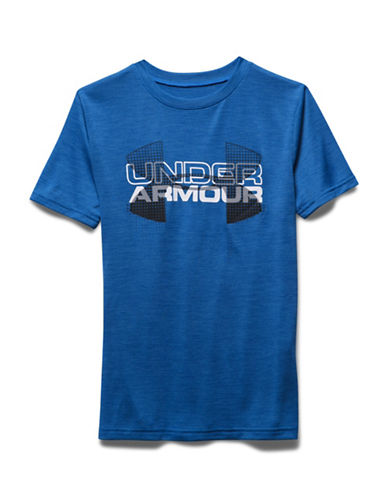 Under Armour Big Logo Hybrid Crew Neck T-Shirt-ULTRABLUE-Large 88422823_ULTRABLUE_Large