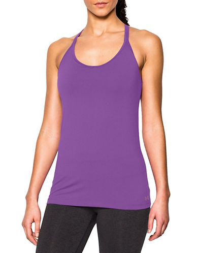 Under Armour Solid Lux Tank Top-PURPLE-X-Large 88292191_PURPLE_X-Large