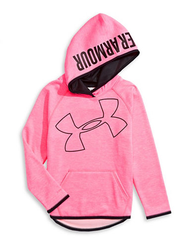 Under Armour Storm Novelty Highlight Hoodie-PINK-Medium 88508044_PINK_Medium
