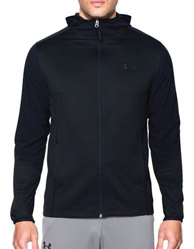 Under Armour ColdGear Infrared Grid Hoodie-BLACK-Medium 88867609_BLACK_Medium