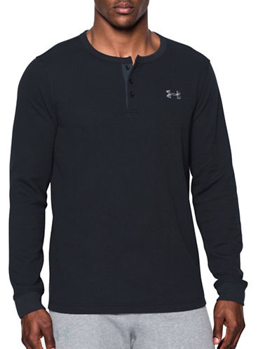 Under Armour Waffle Henley-BLACK-Small 88790467_BLACK_Small