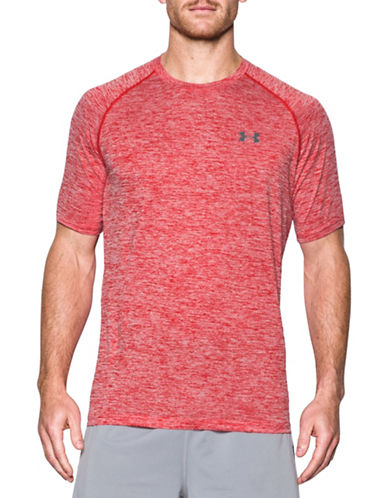 Under Armour Tech Short Sleeve T-Shirt-RED-Small 88443530_RED_Small