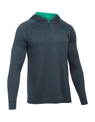 Under Armour UA Tech Popover Henley-GREY-X-Large 88641841_GREY_X-Large