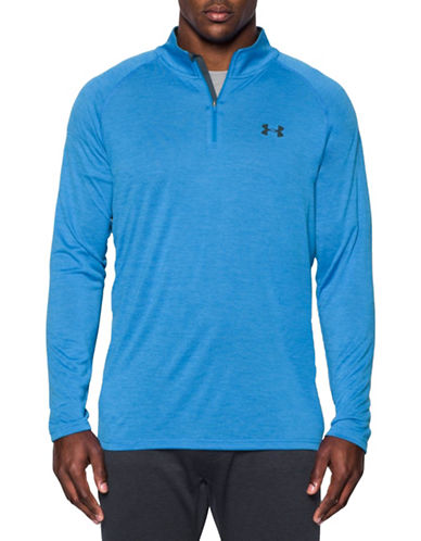 Under Armour Tech Quarter-Zip Shirt-BRILLIANT-XX-Large 88443539_BRILLIANT_XX-Large