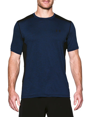 Under Armour Raid Short Sleeve Tee-BLUE-Small 89055051_BLUE_Small